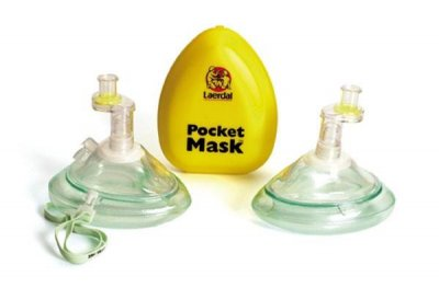 Pocket mask syrgas